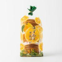 和歌山手焼き 柚子みそせんべい 折27枚入り